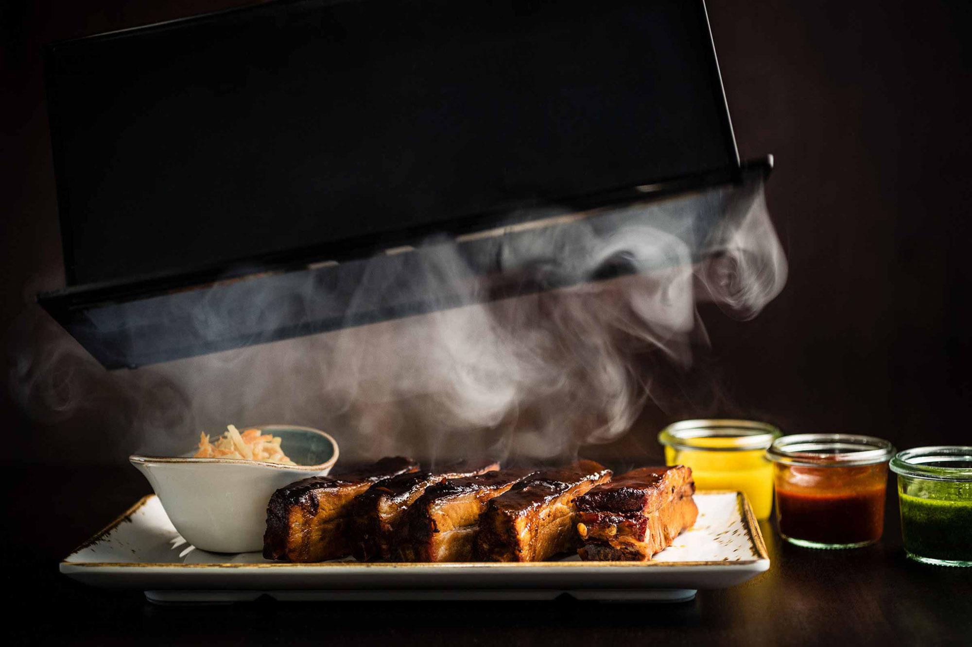 Restaurant Frankfurt: Spare Ribs im The Legacy Bar & Grill